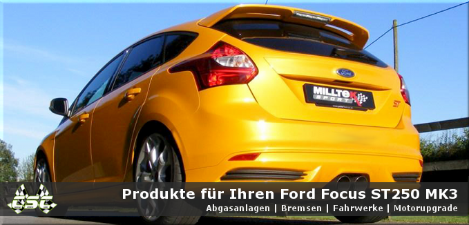Ford Focus ST MK3 - Compact Sports Cars
